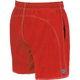 arena Fundamentals Solid Short de bain Homme, red-turquoise